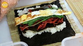 부산 해운대 │ 다시마 김밥 │ Dasima Gimba…