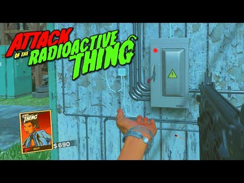 *NEW* ATTACK OF THE RADIOACTIVE THING POWER TUTORIAL! - How To Turn on the Power in DLC 3 Zombies!