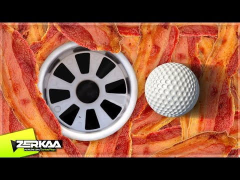 FOREST OF BACON MINIGOLF! (Golf It!)