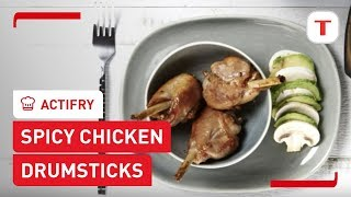 T-fal Actifry Recipe: Spicy Chicken Drumsticks