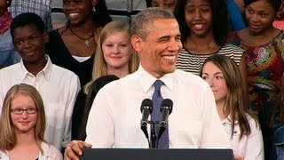 President Obama Speaks on Technology in Schools