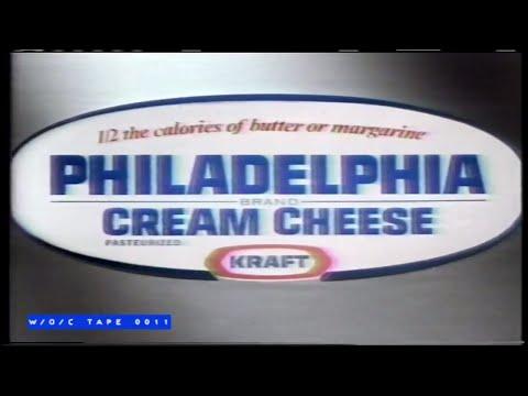 Philadelphia Cream Cheese Commercial - 1988