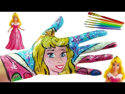 Thumbnail: Learning Colors Video for Children Body Painting | Learn Colors with Body Paint for Kids