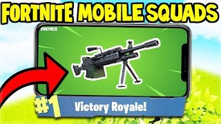 🔴NEW LMG WEAPON UPDATE! / IS TILTED BEING DESTROYED? // Fortnite Mobile Gameplay