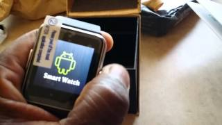 Unboxing Of SmartWatch/Watch Phone GT08 And Smartwatch/Bluetooth Watch DM08