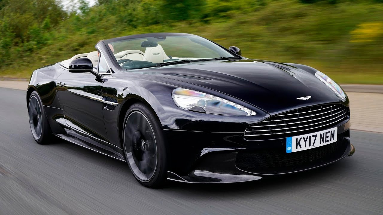 Aston Martin Vanquish S Volante First Drive The Final Encore - Aston martin volante