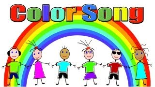 Colors Song - Color Song for Children - Kids Songs by The Learning Station