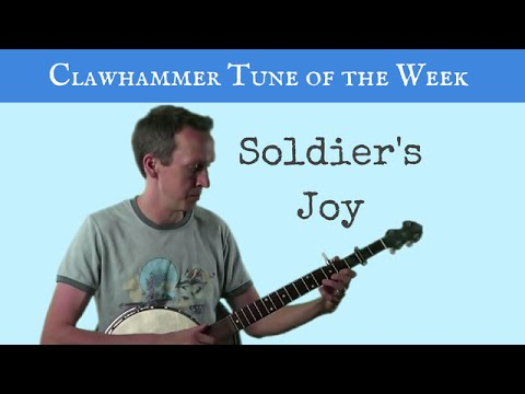 "Clawhammer Banjo: Tune (and tab) of the Week - ""Soldier's Joy ..."