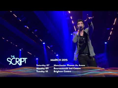The Script Announce UK Arena Tour