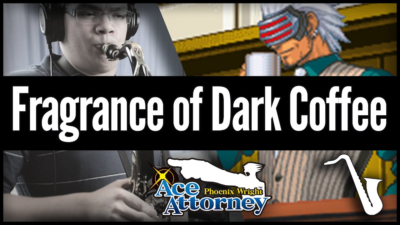 Ace Attorney: The Fragrance of Dark Coffee - Jazz Cover || insaneintherainmusic