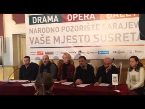 Press-konferencija - Prosjačka opera