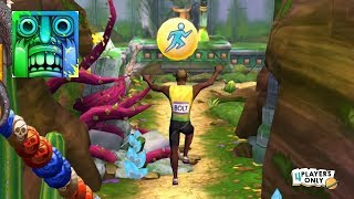 Temple Run 2 | BLOOMING SANDS EXPLORATION New Challenge w/ USAIN BOLT!