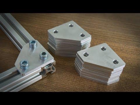 Cutting Aluminum On A Mostly Printed CNC (MPCNC)