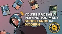 Brewer's Minute: You're Probably Playing Too Many Shocklands in Modern