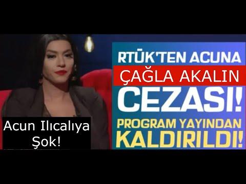 Gökhan Çınar Ve Çağla Akalın'a Şok! KATARSİS YAYINDAN KALDIRILDI..