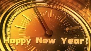 HAPPY NEW YEAR 2020 CLOCK v 606 whatsapp new year status new year wishes greetings