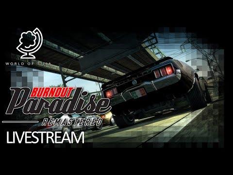 Burnout Paradise Remastered (Livestream 2)