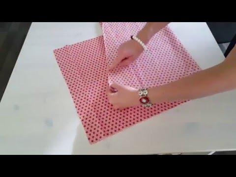 Tuto housse de coussin carr avec fermeture clair youtube - Housse de coussin 60x40 ...