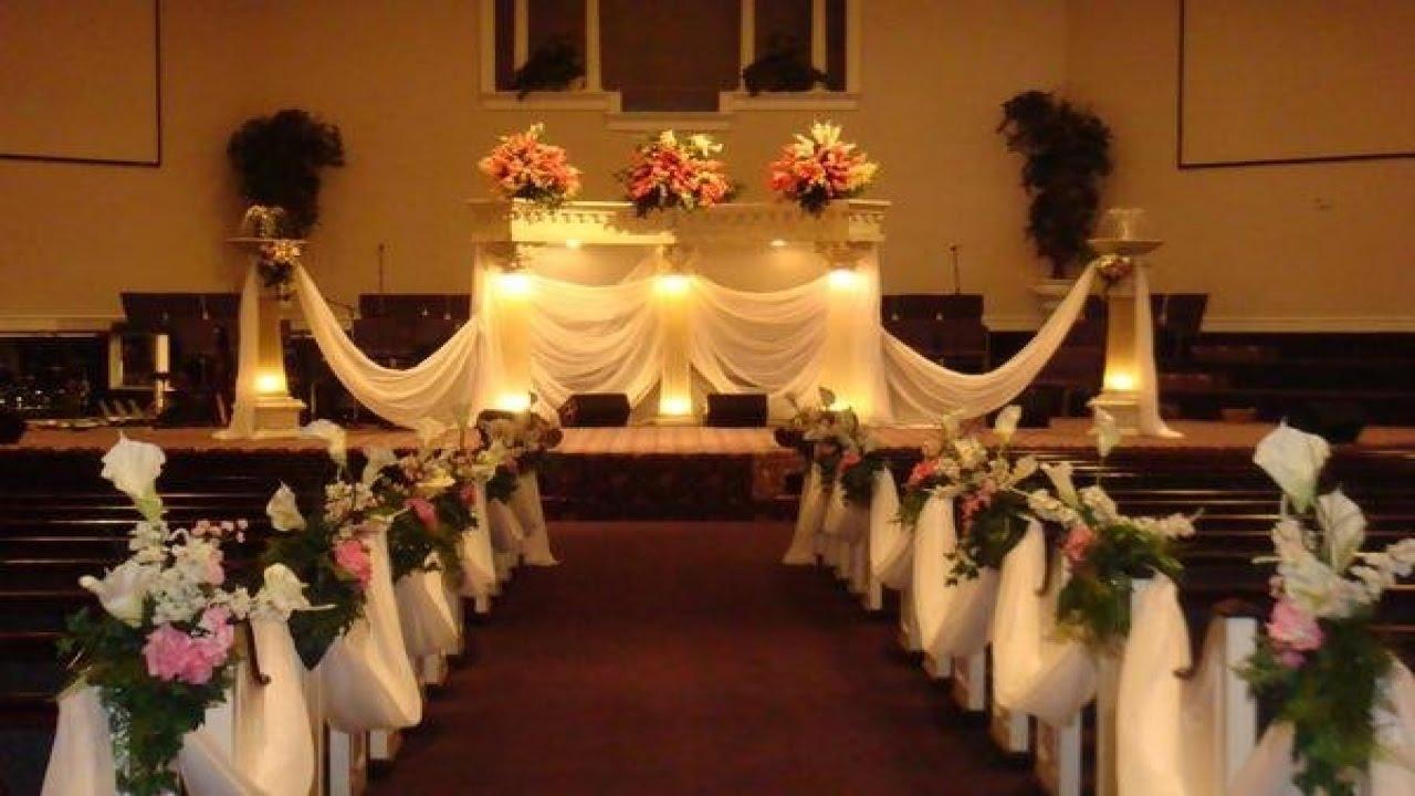 Easy DIY Wedding Pew Decorations