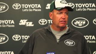 New York Jets head coach Rex Ryan on the Jets 1-2 start