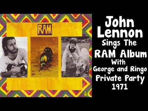 John Lennon Sings Paul McCartney's  RAM  ALBUM
