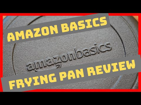 AmazonBasics Cast Iron Pan Review
