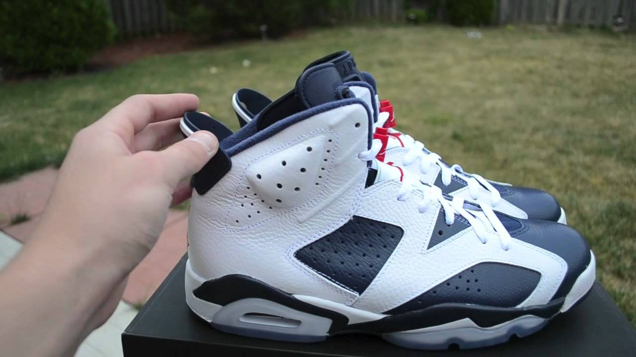 buy popular 5bf3a 1878e Air Jordan 6 VI Olympic 2012 Pickup Review + On Feet HD