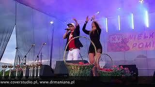 Dr MANIANA - fragment koncertu - Jeziora Wielkie 13.08.2017