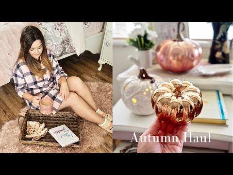 Autumn decor haul and styling, Tk Maxx, Homesense and Primark