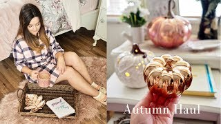 Autumn decor haul and styling, Tk Maxx, Homesense and Primark