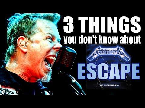A live story of Metallica's 'Escape'