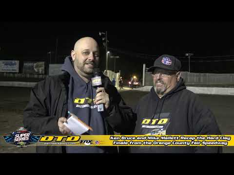 Recap of the Hard Clay Finale from the Orange County Fair Speedway on 10/24/19
