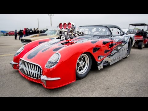 DEAFENING 1953 Corvette with a HUGE Blower!