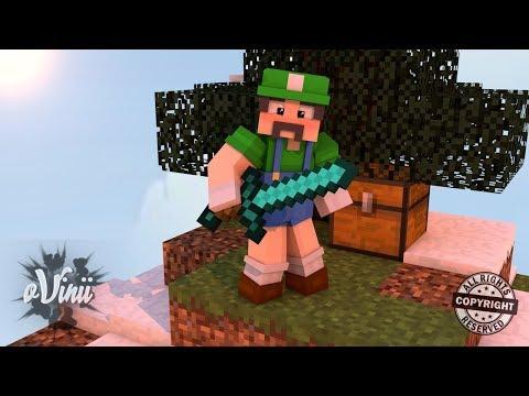 Minecraft: Skywars Tentando Ganhar ‹ Ovinii ›