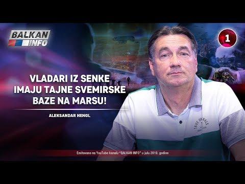 INTERVJU: Aleksandar Hengl - Vladari iz senke imaju tajne svemirske baze na Marsu! (12.7.2019)