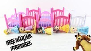 Beş küçük Prenses Zıplamış Yatakta Çocuk Şarkısı Koca Ayı Doktor Oldu Masha And Bear