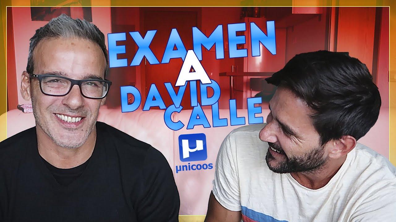 Examen de física a David Calle (@unicoos)