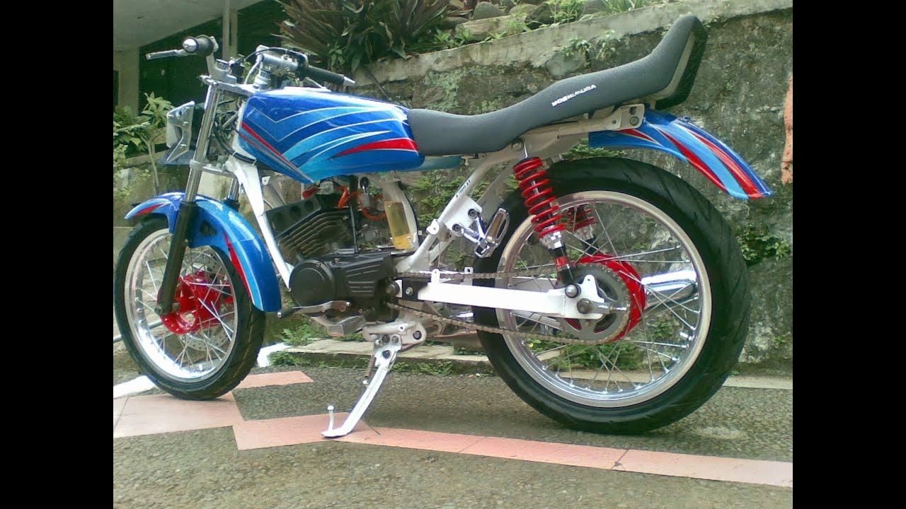 Motor Trend Modifikasi Video Modifikasi Motor Yamaha RX King Velg