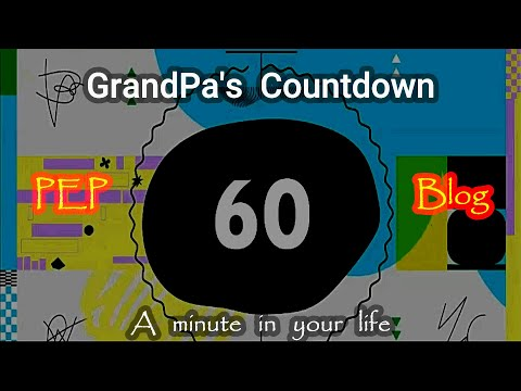 A Minute of Hope in Your Life - Grandpa's Countdown | Countdown ni Lolo