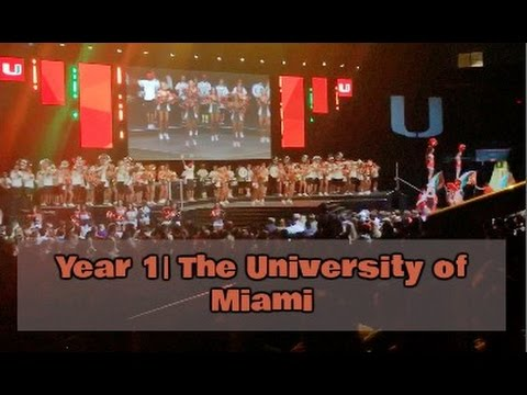Year 1 at the University of Miami