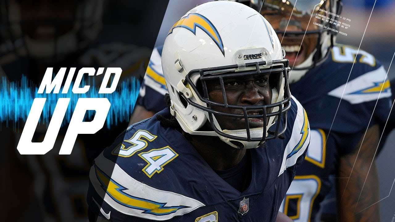 Melvin Ingram & Joey Bosa Mic'd Up vs. Bills