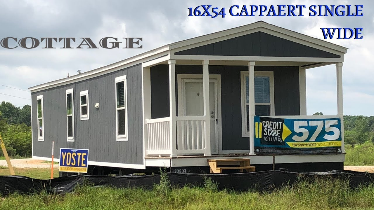 Our Version Of A Tiny House 16x54 Cottage Cappaert Single Wide Mobile Home Masters Youtube