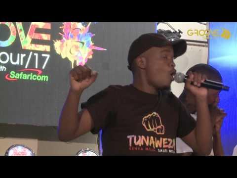 BEN CYCO - Groove Inspires Machakos School (Performance)