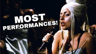 Lady Gaga - Most Performed Songs! (2021)