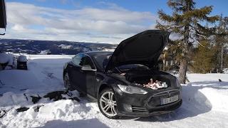 Tesla Fun in the Norwegian Mountains