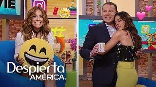 #DAEnUnMinuto: Alan y Francisca imitaron a Shannon y Canelo, y Karla es un emoji
