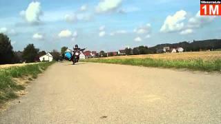 Auf 2 Rädern - MZ ETZ 250 mit Beiwagen und Bierfass - Gespann fahren