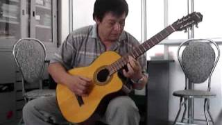 Độc tấu Guitar - Múa Ả Rập - Guitarist Quốc Triệu