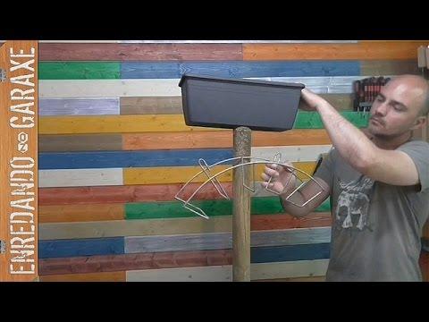 Soporte para manguera de jard n parte 1 youtube - Mangueras para jardin ...