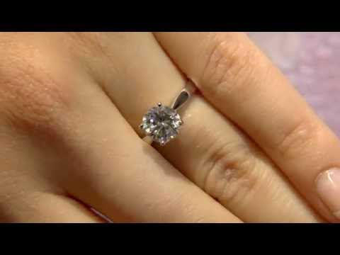 1.50 Carat Round Cut Classic Solitaire Engagement Ring